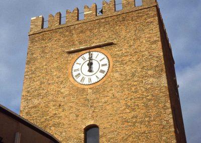 Piazzetta Matter, torre dell'Orologio; 2003
