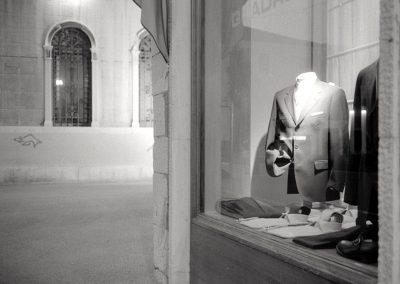 Vetrina presso piazza Ferretto; 2002
