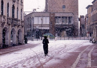Via Palazzo, torre dell'Orologio; 2004