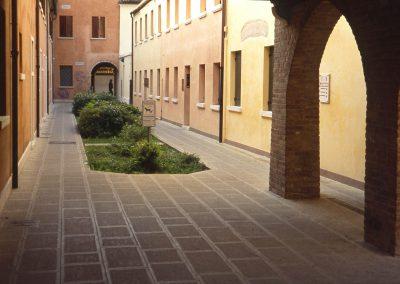 Calle del Gambero da via Palazzo; 2003