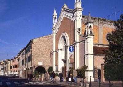 Via Torre Belfredo, chiesa di S. Maria della Salute; 2003