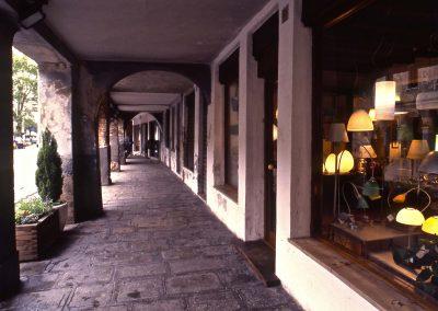 Via Torre Belfredo, sottoportico; 2002