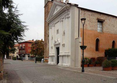Via S. Girolamo; chiesa di S. Girolamo; 2016
