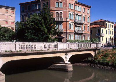 Ponte tra via Bissuola e piazzale Generale Cialdini, Marzenego; 2004