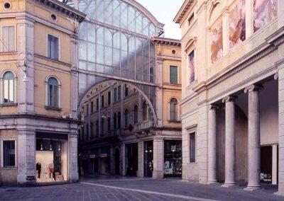 Piazzetta Battisti, teatro Toniolo, galleria Matteotti; 2007