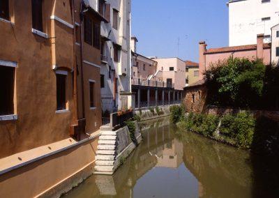 Marzenego da piazza Ferretto presso via Manin; 2004