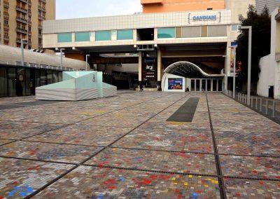 Piazzale e Centro Candiani; 2016
