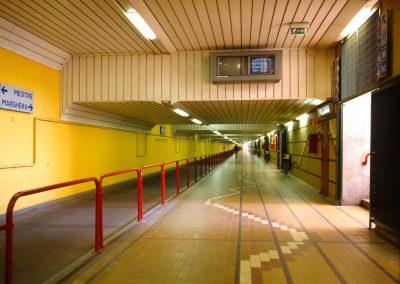 Sottopassaggio ferroviario Mestre – Marghera; 2004
