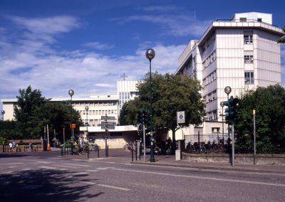 Via Circonvallazione, ospedale Umberto I; 2004