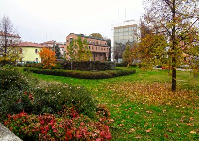 Via Cappuccina, area verde; 2016