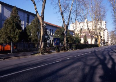 Via Cappuccina, scuola media; 2003