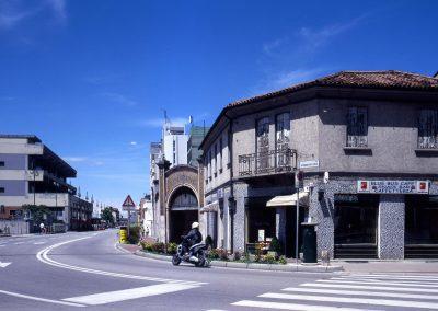 Incrocio via Cappuccina – viale della Stazione; 2006