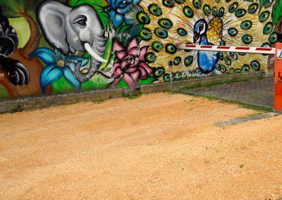 Via Brenta Vecchia, murales; 2016