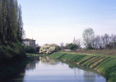 Veduta sul Marzenego da riviera Miani; 2002