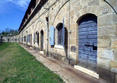 Forte di Carpenedo, cortile interno; 2002