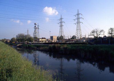 Marzenego e centrale elettrica da viale Vespucci; 2002