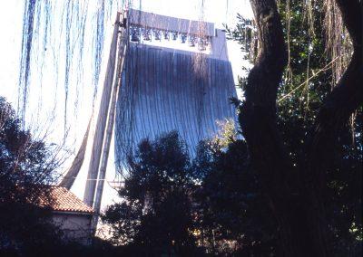 Parco di Corso del Popolo, chiesa del S. Cuore; 2002